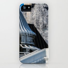 to the ice castle iPhone Case
