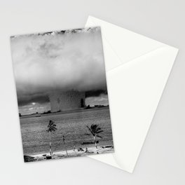 nuclear mushroom Stationery Cards