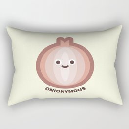 Onionymous Rectangular Pillow