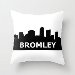 Bromley Skyline Throw Pillow