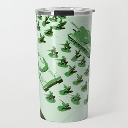 GREEN BATTALLION ON THE MARCH Travel Mug