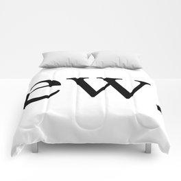 Ew Gross Comforters