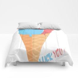 Ice Cream Love Comforters