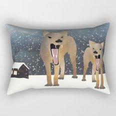 Coyotes Rectangular Pillow