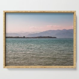 Lake Garda riviera / Italy Serving Tray