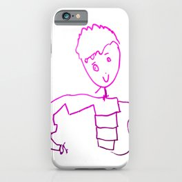 The Little Prince | Elisavet first drawing iPhone Case