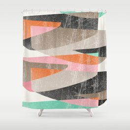 Fragments XIII Shower Curtain