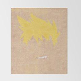 Minimalist Kittan Throw Blanket