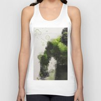water colour Tank Tops featuring Water Colour Hulk by Scofield Designs
