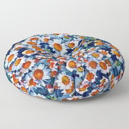chrydsanthemum Floor Pillow