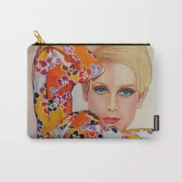 Twiggy 1960's Super Model Carry-All Pouch