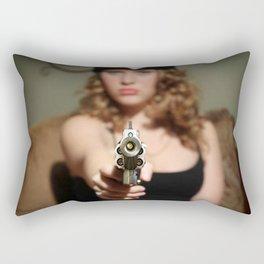 Wrong Girl Rectangular Pillow