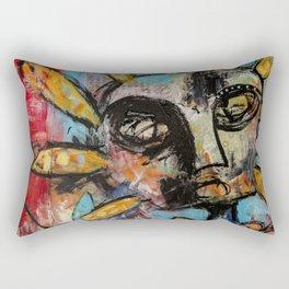 Curious Conjuring Rectangular Pillow