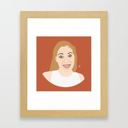Isabel Fitter Framed Art Print