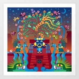 Tlalocan Art Print