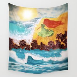 The Garden Of Oceans Wall Tapestry
