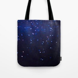 Painted Starry Night Tote Bag