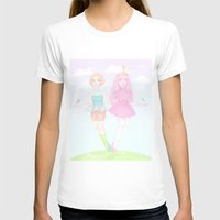 princess bubblegum T-shirts featuring Pearl & Princess Bubblegum by Siri