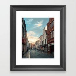 In Bruges Framed Art Print