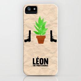Leon the Professional iPhone Case