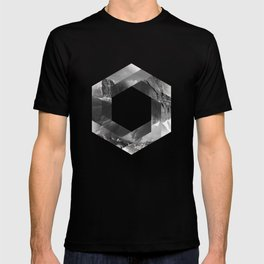 Optical landscape T-shirt