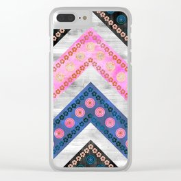 Bali Bali Chevron Multi Clear iPhone Case