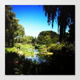 Monet's Garden in Chicago Canvas Print