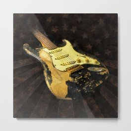My AMERICAN RELIC STRATOCASTER® Custom Shop Metal Print