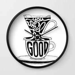 Coffee, I love you! Wall Clock