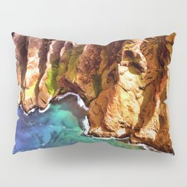 Tropical Coastline Hawaii of the Isolated Napali Coast Pillow Sham