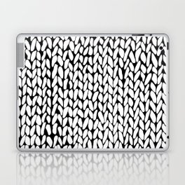 Hand Knitted Loops Laptop & iPad Skin