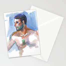 MATT, Semi-Nude Male by Frank-Joseph Stationery Cards
