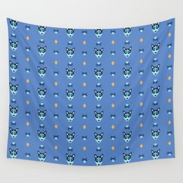 doggone it (blue) Wall Tapestry