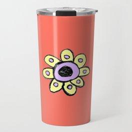 childish flower 2 Travel Mug