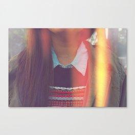 Collar-ful Canvas Print
