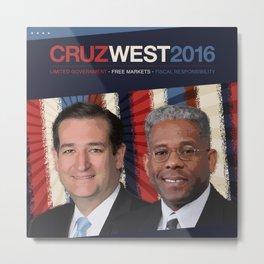 Cruz West 2016 Metal Print