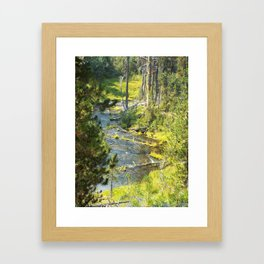 Headwaters of the Rogue River Framed Art Print