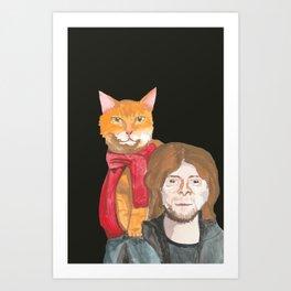 BOB THE STREET CAT Art Print