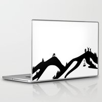 snowboard Laptop & iPad Skins featuring Snowboard by A&N2218