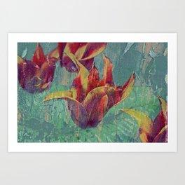 Tulip Crossing Art Print