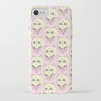 meow iPhone & iPod Cases featuring Meow by lOll3