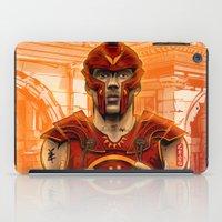 gladiator iPad Cases featuring German Gladiator Podolski by Akyanyme