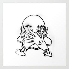 GHO$T Art Print