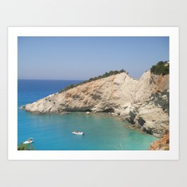 Greece - Lefkada Art Print