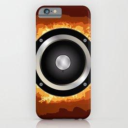Speaker iPhone Case