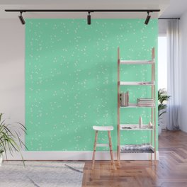 Light Green Shambolic Bubbles Wall Mural