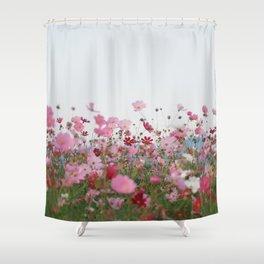 Flower photography by MIO ITO Shower Curtain