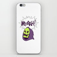 skeletor iPhone & iPod Skins featuring Skeletor Evil laugh He-man  by Komrod