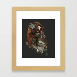 Day of the Dead Girl Framed Art Print