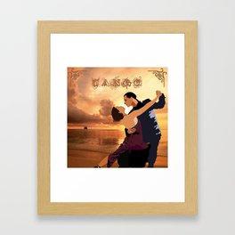 TANGO DANCE Framed Art Print